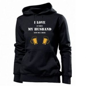 Women's hoodies Wife and beer