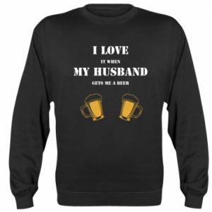 Sweatshirt Wife and beer
