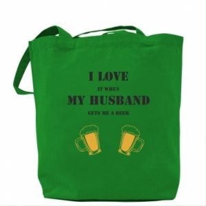 Bag Wife and beer