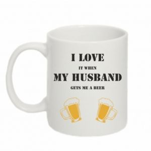 Mug 330ml Wife and beer