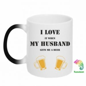 Magic mugs Wife and beer