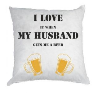 Pillow Wife and beer
