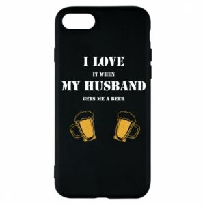 iPhone 7 Case Wife and beer
