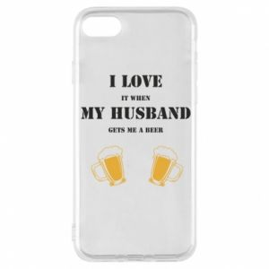 iPhone 8 Case Wife and beer