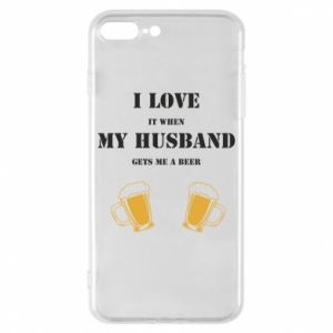 iPhone 8 Plus Case Wife and beer