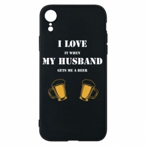 iPhone XR Case Wife and beer