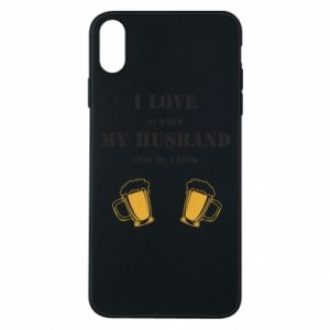 iPhone Xs Max Case Wife and beer