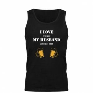 Men's t-shirt Wife and beer