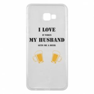 Samsung J4 Plus 2018 Case Wife and beer