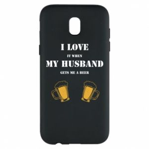 Samsung J5 2017 Case Wife and beer