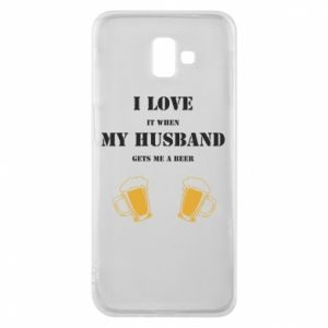 Samsung J6 Plus 2018 Case Wife and beer