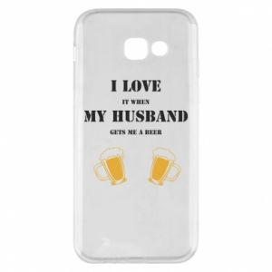 Samsung A5 2017 Case Wife and beer