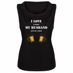 Women's t-shirt Wife and beer