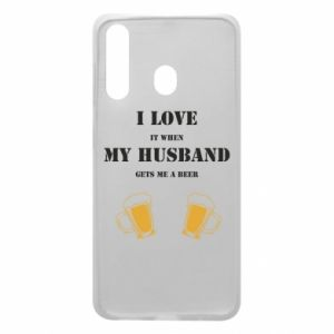 Samsung A60 Case Wife and beer