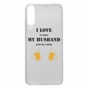 Samsung A70 Case Wife and beer