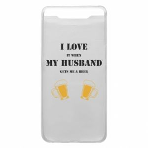 Samsung A80 Case Wife and beer