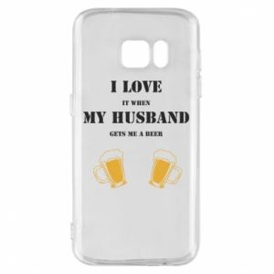 Samsung S7 Case Wife and beer