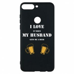 Huawei Y7 Prime 2018 Case Wife and beer