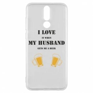 Huawei Mate 10 Lite Case Wife and beer