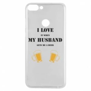 Phone case for Huawei P Smart Wife and beer
