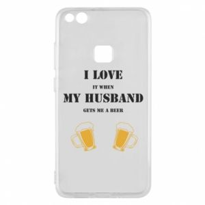 Huawei P10 Lite Case Wife and beer