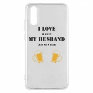 Huawei P20 Case Wife and beer