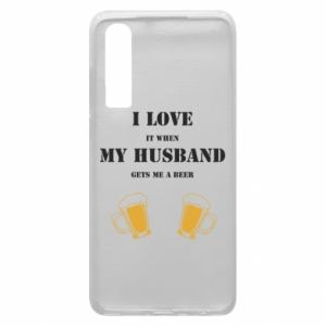 Huawei P30 Case Wife and beer