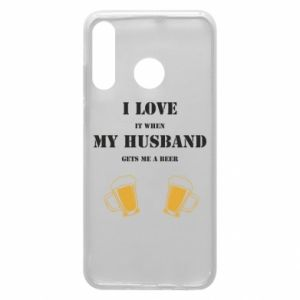 Huawei P30 Lite Case Wife and beer