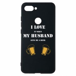 Xiaomi Mi8 Lite Case Wife and beer