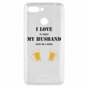 Xiaomi Redmi 6 Case Wife and beer