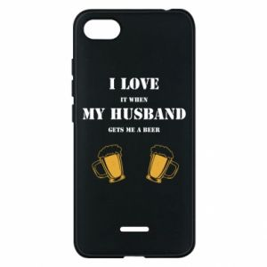 Xiaomi Redmi 6A Case Wife and beer
