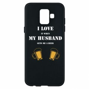 Samsung A6 2018 Case Wife and beer