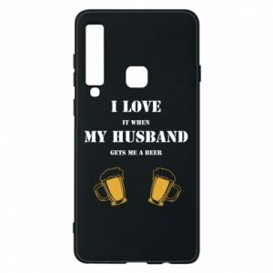 Samsung A9 2018 Case Wife and beer