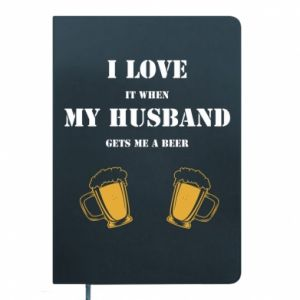 Notepad Wife and beer