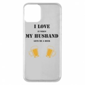 iPhone 11 Case Wife and beer