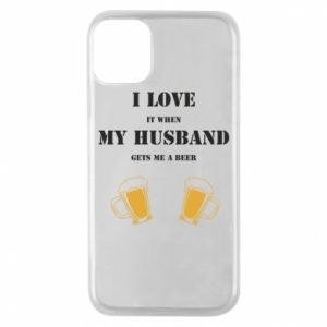 iPhone 11 Pro Case Wife and beer