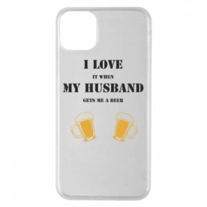 iPhone 11 Pro Max Case Wife and beer