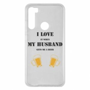 Xiaomi Redmi Note 8 Case Wife and beer