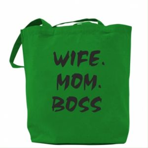 Torba Wife. Mom. Boss.