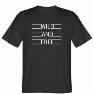 Koszulka męska Wild and free