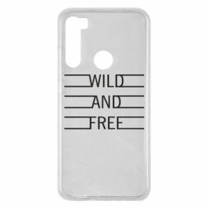 Etui na Xiaomi Redmi Note 8 Wild and free