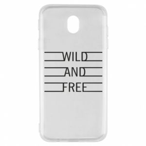 Etui na Samsung J7 2017 Wild and free