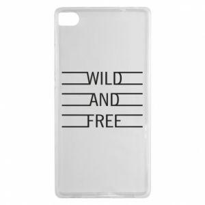 Etui na Huawei P8 Wild and free