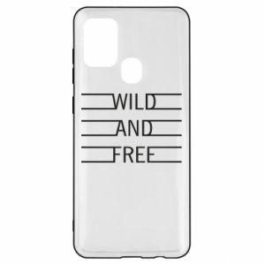 Etui na Samsung A21s Wild and free