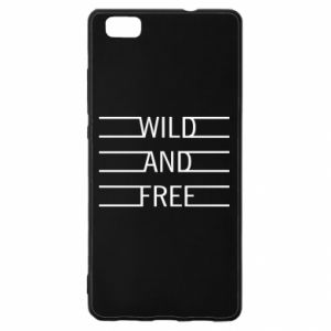 Etui na Huawei P 8 Lite Wild and free