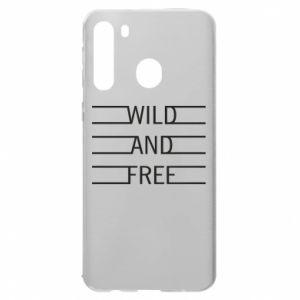 Etui na Samsung A21 Wild and free