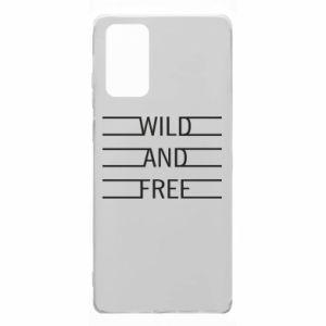 Etui na Samsung Note 20 Wild and free