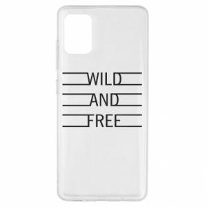 Etui na Samsung A51 Wild and free