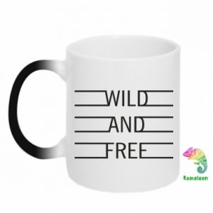 Kubek-magiczny Wild and free