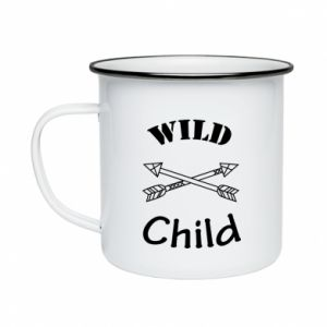 Kubek emaliowane Wild child